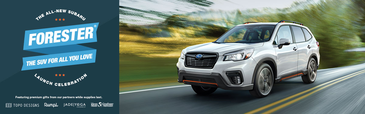 2019 Forester Launch